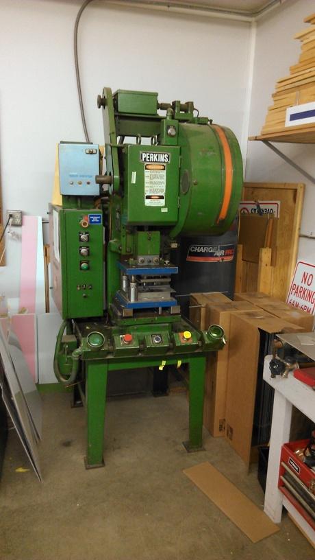 Perkins 10 C 10 Ton Obi Pressperkins 10 C 10 Ton Obi Press